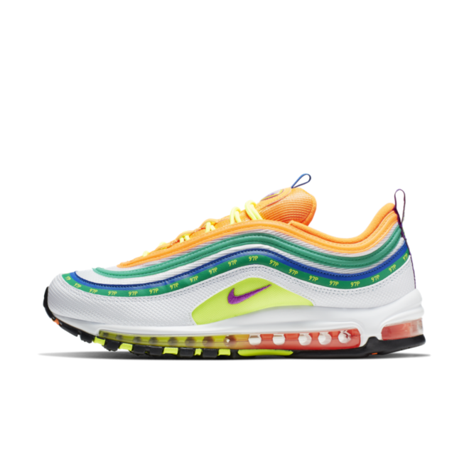 Nike Air Max 97 - On Air 'Summer of Love' zijaanzicht