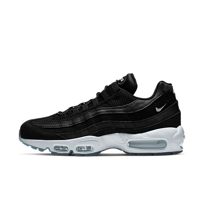 Nike Air Max 95 Essential (Black / White - Black - Reflect Silver)
