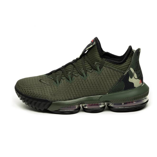Nike Lebron XVI Low (Cargo Khaki / Black - Neutral Olive)