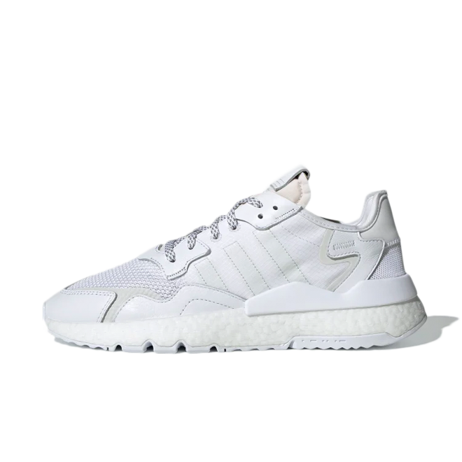 adidas Nite Jogger 'Triple White' zijaanzicht