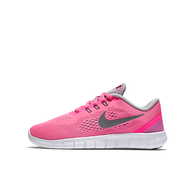 Nike Free Run GS Laufschuh Kinder pink