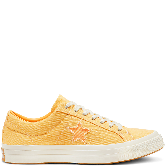 One Star Sunbaked Canvas Low Top