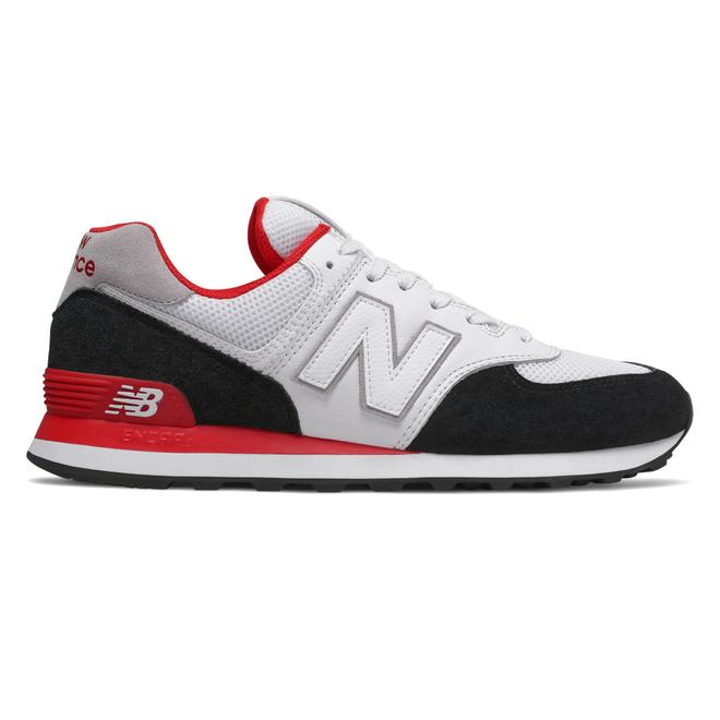 New Balance ML574NSB (Black / Red)