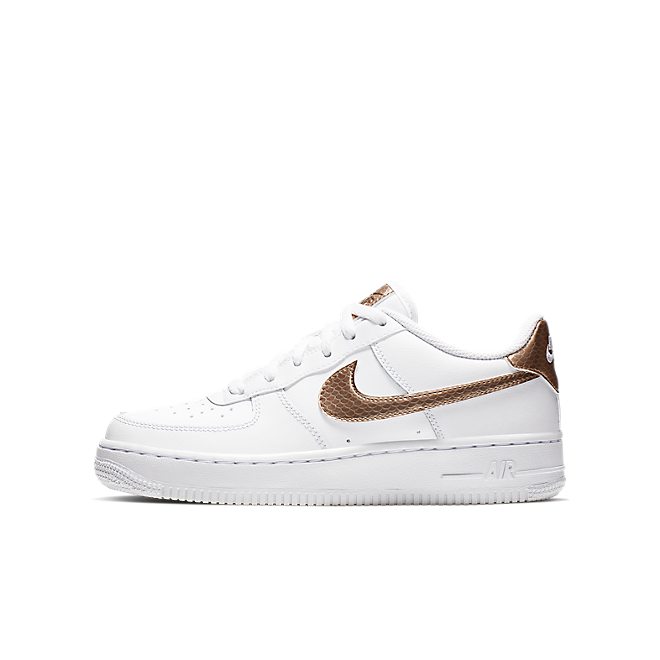 Damen Sneaker Air Force 1 EP GS White Gold | AV5047 100 | Sneakerjagers
