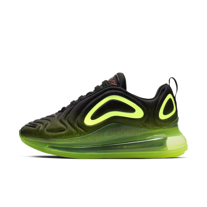 Nike Air Max 720 BG 'Black Volt' AQ3196-005
