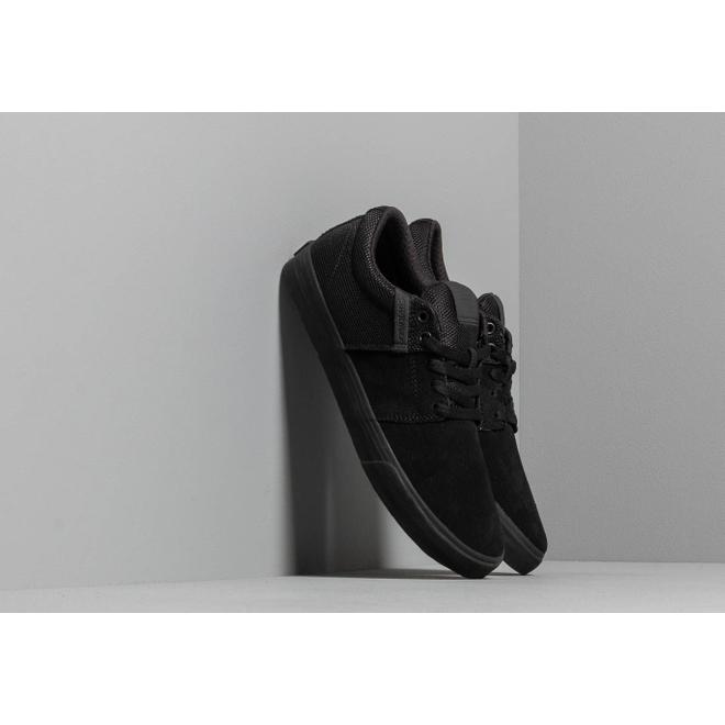 Supra Stacks Vulc II Black/ Black/ Black