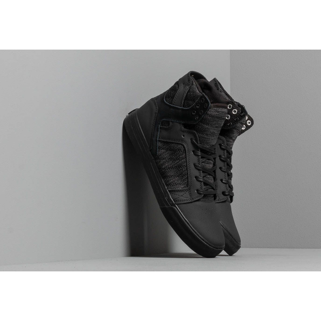 Supra Skytop Black/ Dark Grey-Black
