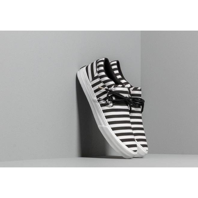 Supra Cuba Black/ White Stripe