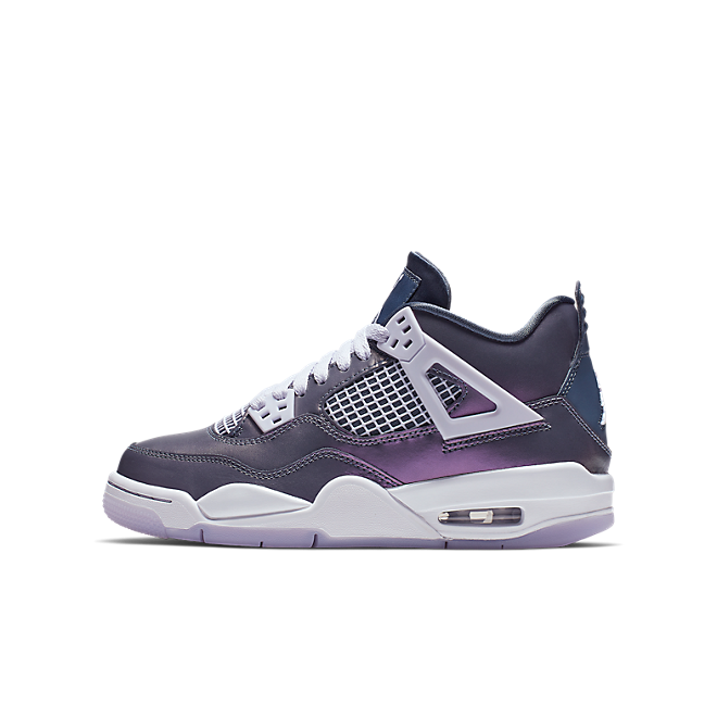 Nike Air Jordan 4 Retro SE GS 'Monsoon Blue' zijaanzicht
