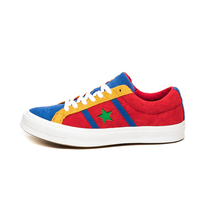 Converse One Star Academy OX (Enamel Red / Blue / White)