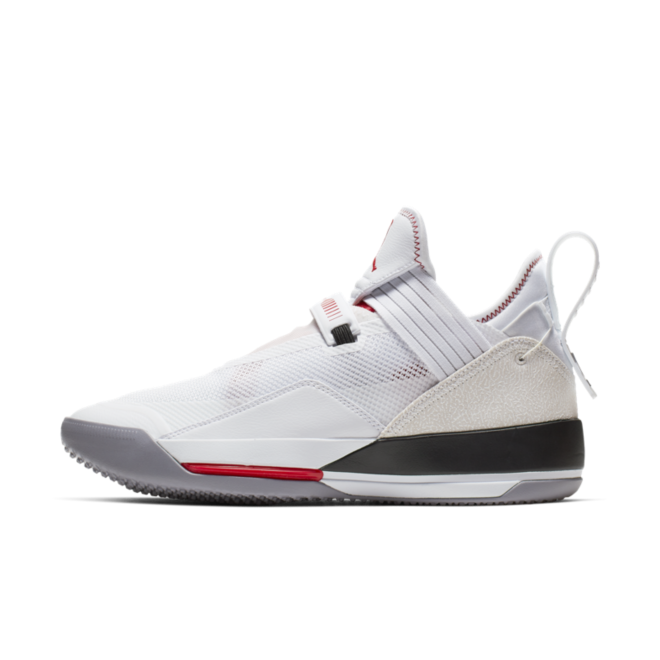 Air Jordan 33 'White' zijaanzicht