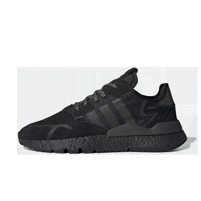 adidas Nite Jogger 'Core Black' zijaanzicht