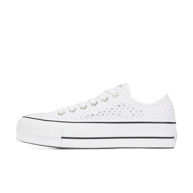 Chuck Taylor All Star Crochet Lift Low 'White'
