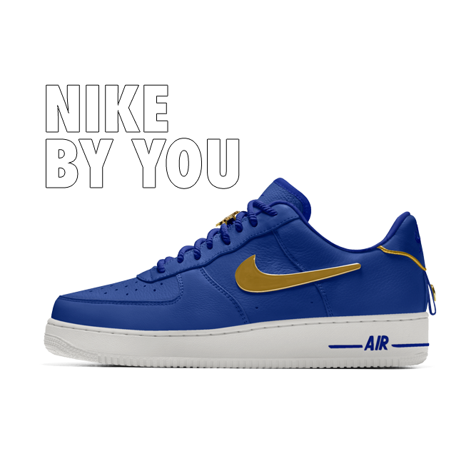 Nike Air Force 1 Low Gold NBA - By You | CD9427-992